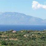 view from Lithieshotel in zakynthos