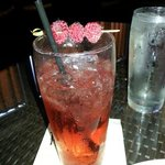 Shirley Temple w/ berries