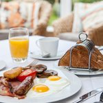 Delicious locally sourced breakfast