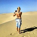 Maspaloma desert walk...