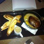 Oeuf cocotte au foie gras sauce foie gras