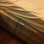 Mattress too small for bed
