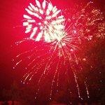 Gala night fireworks
