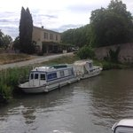 Nice restaurant right on Canal du Midi