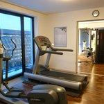 Kleiner Fitnessbereich