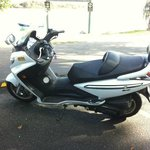 SYM bike