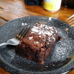 ahh...molten lava chocolate cake. well done!