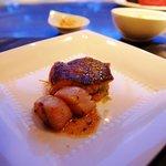 メインディッシュ前の魚料理