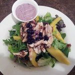 Chicken & Mango Blueberry Salad