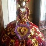 Eapone piezas de carnaval de 1700