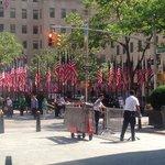 Flag Day 2014, Rockeller Center, NYC