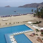 Piscina, terraza, playa