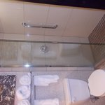 glass & tile shower