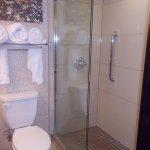 glass & tile shower