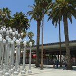 Urban Light in front of LACMA