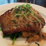 Cod special w/sweet potato quinoa
