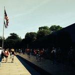 Reflecting Wall - Korean War Veterans' Memorial