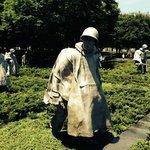 Larger-than-Life Soldiers at the Korean War Veterans' Memorial