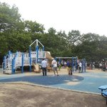 playground by waterfront