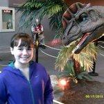 In The Dinosaur Exhibit