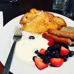 breakfast on the 4th floor,yummy!!!