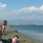 Limassol in the distance