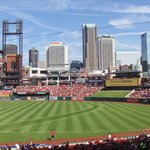 View at the Cardinals game