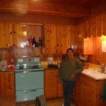 Main cabins kitchen