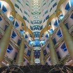 Atrium/Lobby of Burj Al Arab