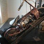 Motocicleta dobrável da segunda guerra