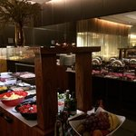 Quality breakfast spread in the Lobby level.