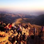 Mount Nemrut, getting ready for the sunset
