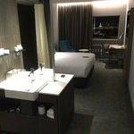 Nice Bathroom and Bedroom Integration