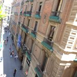 вид из окна на ул.Ангел