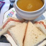 Sopa+ sándwich