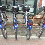 biciclette dell'hotel