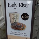 Early Rise sign