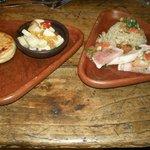 Un delicioso jamon con quinua graneada