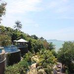 Horizon pool view from restaurant
