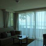 Elevation suite living area