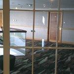 Вид из окна в коридор =)