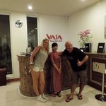 Lovely Lisa at Vaia - so friendly great staff, Susan was lovely too