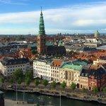 Et kig ud over København fra Tårnet på Christiansborg