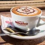 No joke, the best cappuccino in Malta
