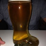 A boot of beer (1litre)