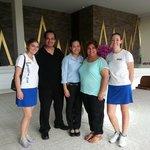 Us with Maya, Vicky & Jelena