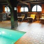 Salle de repos piscine Schloss-Hotel