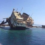 Ship wreck snorkelling trip tiran island