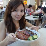 Order the Duck and Pork Meat at the Foodcourt ! It's tasty - www.adriennehoxy.com