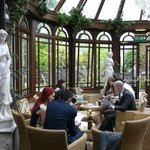 The Conservatory - a pleasant space to relax in